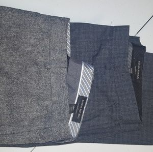 2 pairs Men's Banana Republic Dress Pants